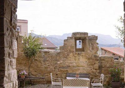 hotel con encanto en brinas peq patio