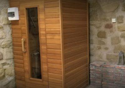 hotel con spa en la rioja sauna